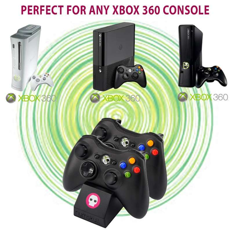 Numskull Xbox 360 Dual Controller Docking Station