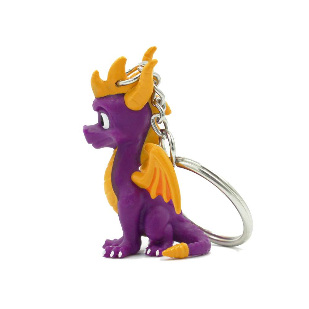 Spyro the Dragon 3D Keyring / Keychain
