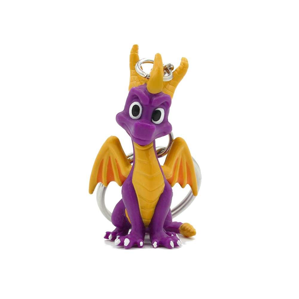 Spyro the Dragon 3D Keyring / Keychain - Numskull