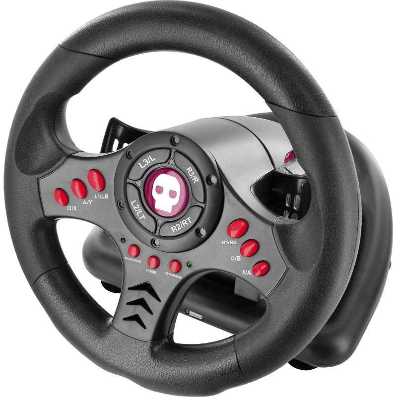 Numskull Multi Format Steering Wheel for PS4/Xbox One - Numskull