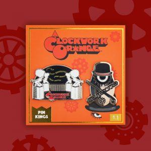 Pin Kings A Clockwork Orange Enamel Pin Badge Set 1.1 – Milk Bar & Icon