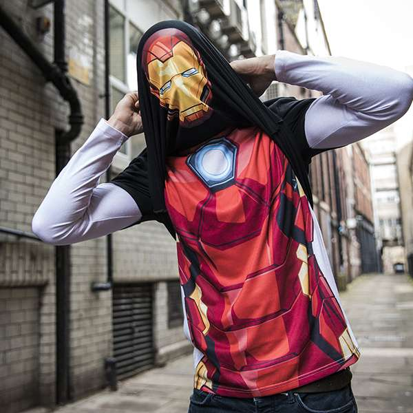 Iron Man Alter-Ego T-Shirt