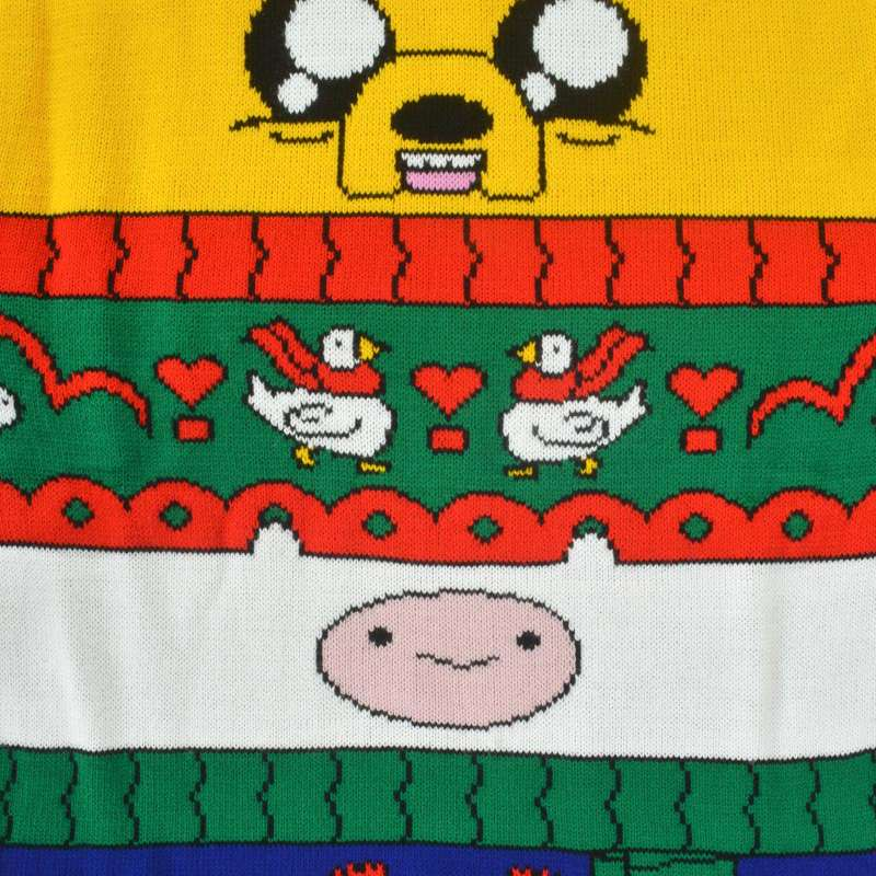 Adventure Time Finn & Jake Christmas Jumper Ugly Sweater