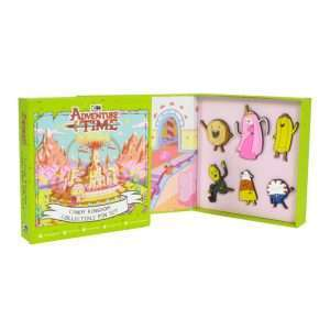 Adventure Time Candy Kingdom Pin Badge Set