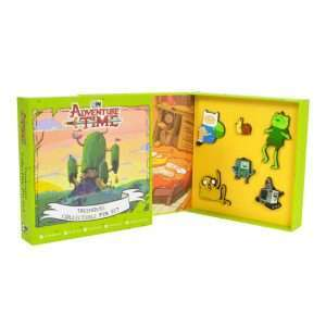 Adventure Time Treehouse Pin Badge Set
