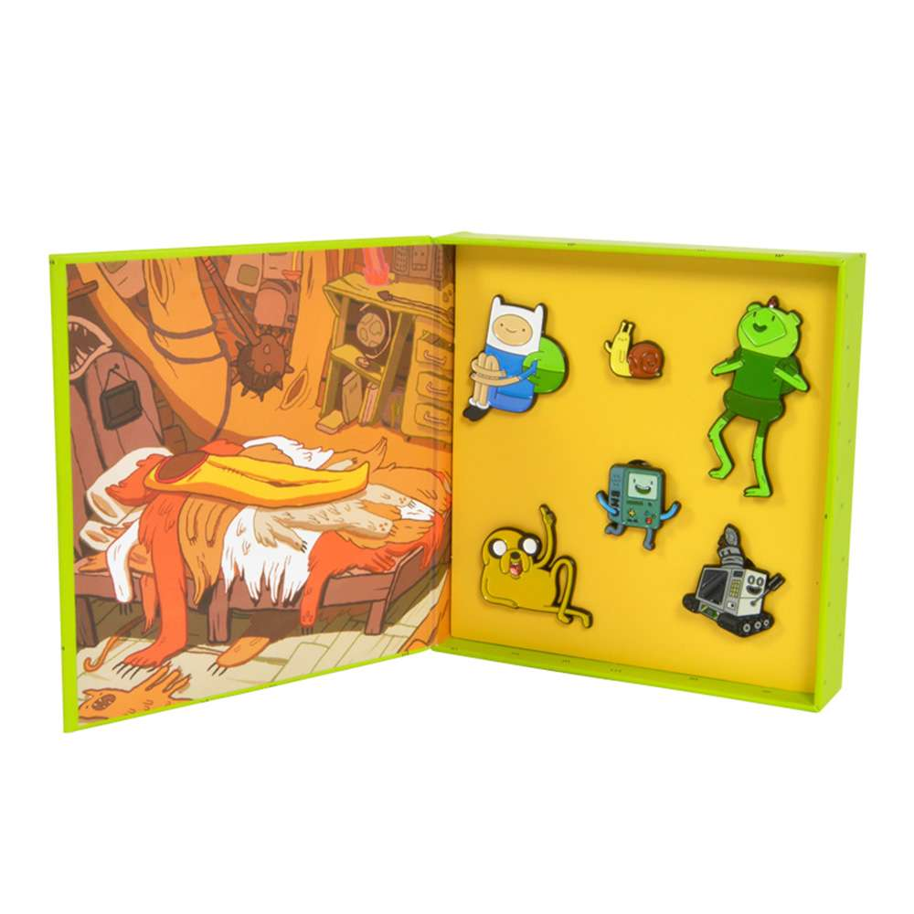 Adventure Time Treehouse Pin Badge Set