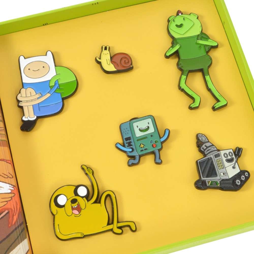 SET OF 11 Adventure Time Enamel Pins