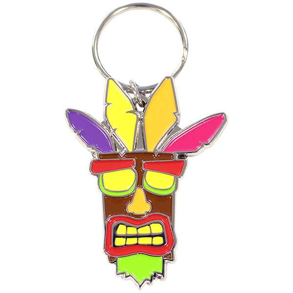 Crash Bandicoot Aku Aku KeyChain