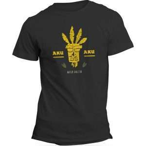 Crash Bandicoot Aku Aku Witch Doctor T-Shirt