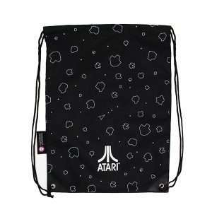 Asteroids Artwork Drawstring Bag