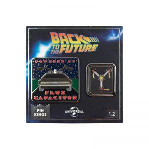 Pin Kings Back to the Future Enamel Pin Badge Set 1.2