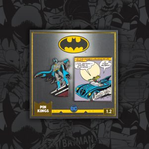 Pin Kings DC Comics Batman Enamel Pin Badge Set 1.2