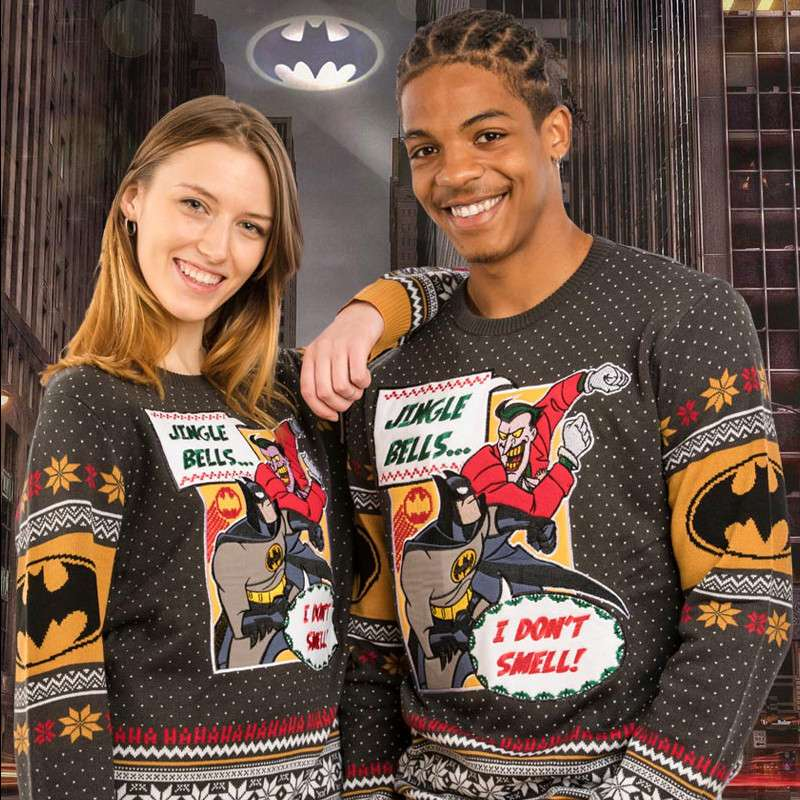 Batman 'I Don't Smell' Christmas Jumper / Ugly Sweater
