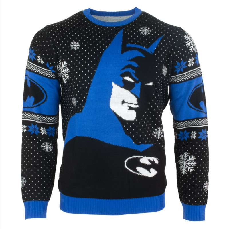 Batman In The Shadows Christmas Jumper / Ugly Sweater