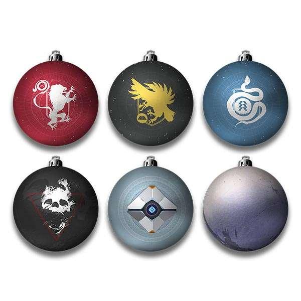 Destiny 2 Bauble / Christmas Tree Ornament Pack