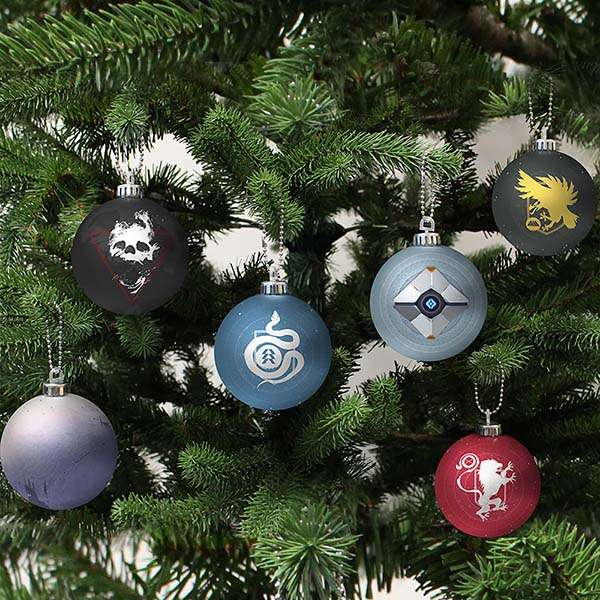 Destiny 2 Christmas Decorations / Ornaments