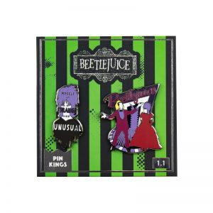 Pin Kings Beetlejuice Enamel Pin Badge Set 1.1
