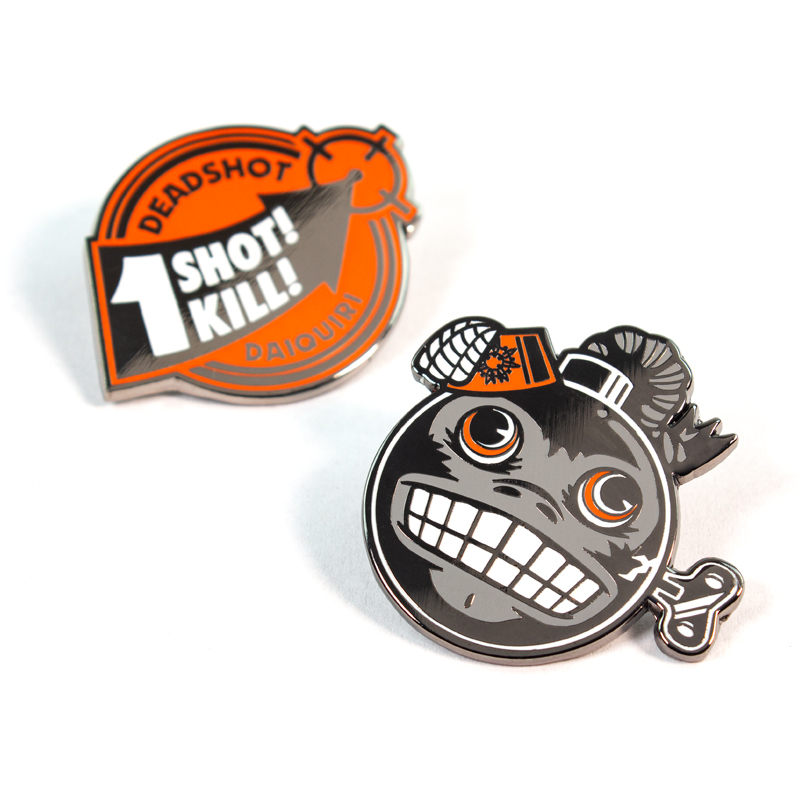 Pin Kings Call of Duty Enamel Pin Badge Set 1.3