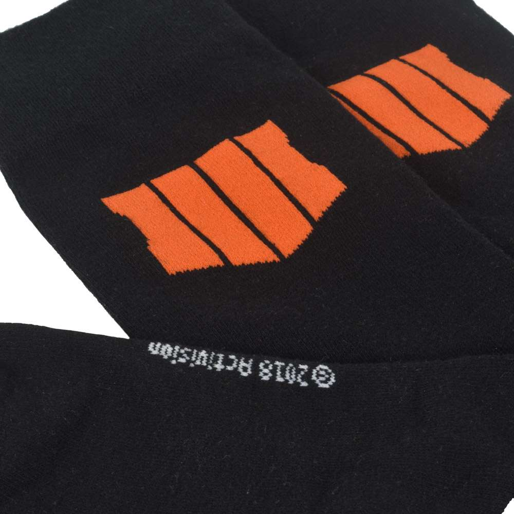 Call of Duty Black Ops 4 Black Socks