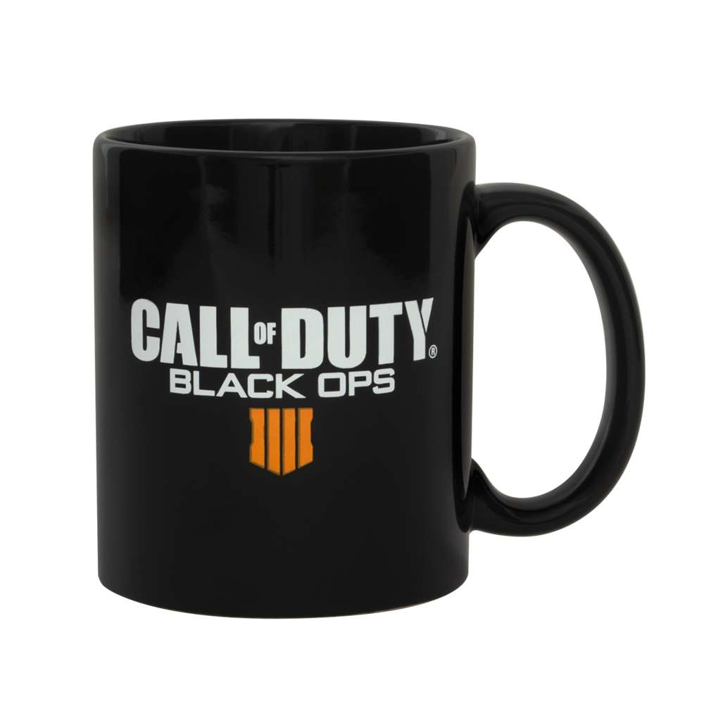 Call of Duty Black Ops 4 Mug with Metal Badge