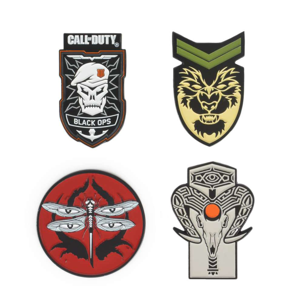 Call of Duty Black Ops 4 Pin Badge Set