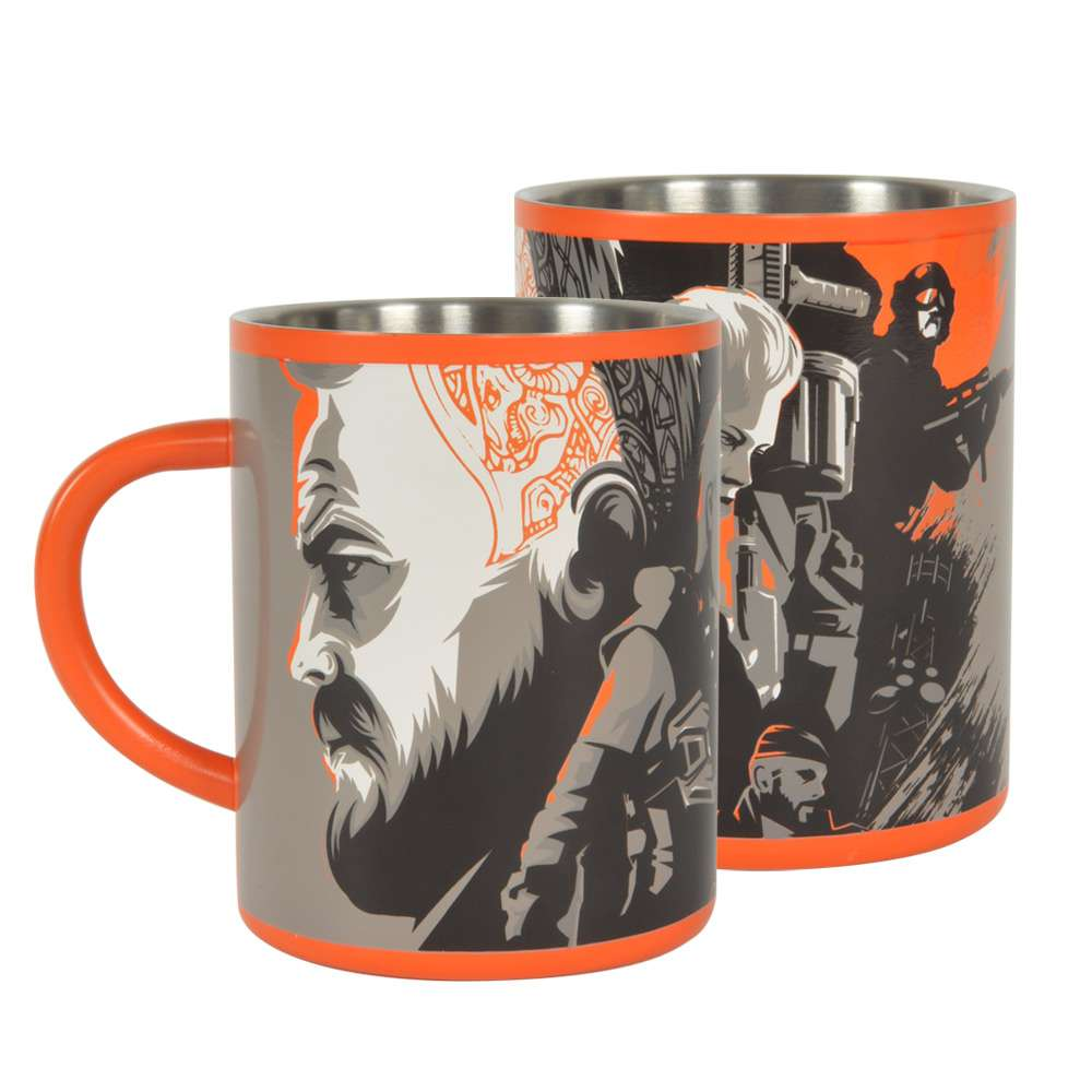 Call of Duty Black Ops 4 Steel Mug