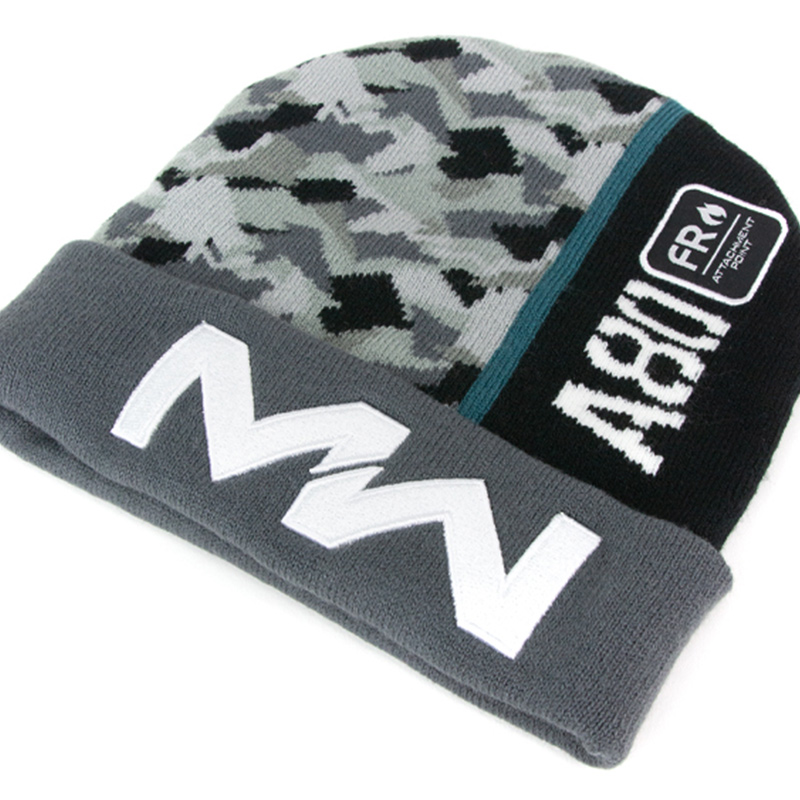Call of Duty Modern Warfare Grey Camo Beanie