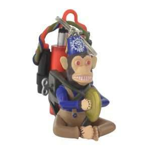 Call of Duty 3D Monkey Bomb Keyring / Keychain