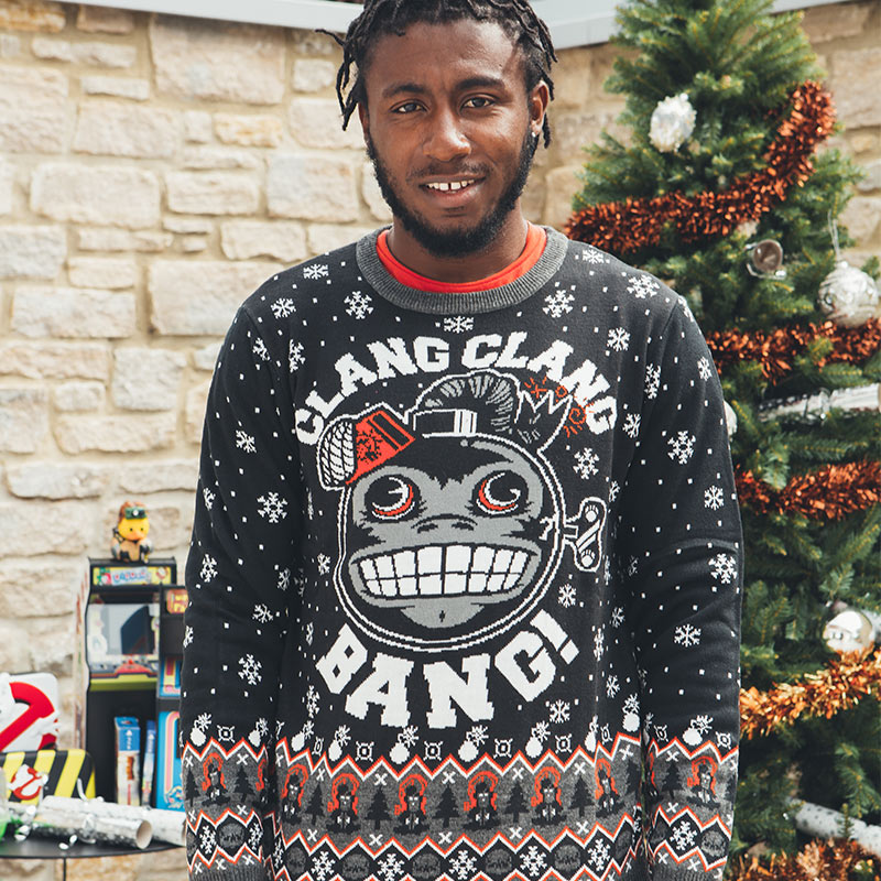 Official Call of Duty Monkey Bomb Christmas Jumper / Ugly Sweater