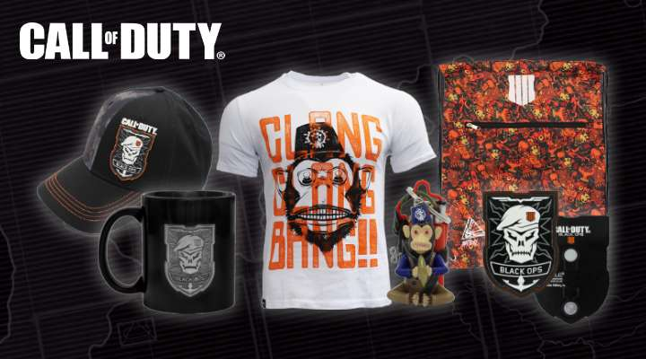 Official CoD Black Ops 4 Merchandise