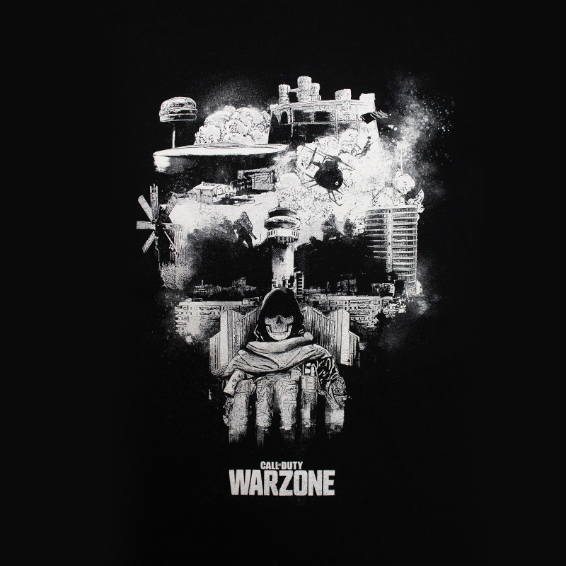 Call Of Duty Warzone Skull T-Shirt