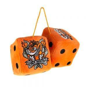 Crash Team Racing Nitro-Fueled Furry Dice