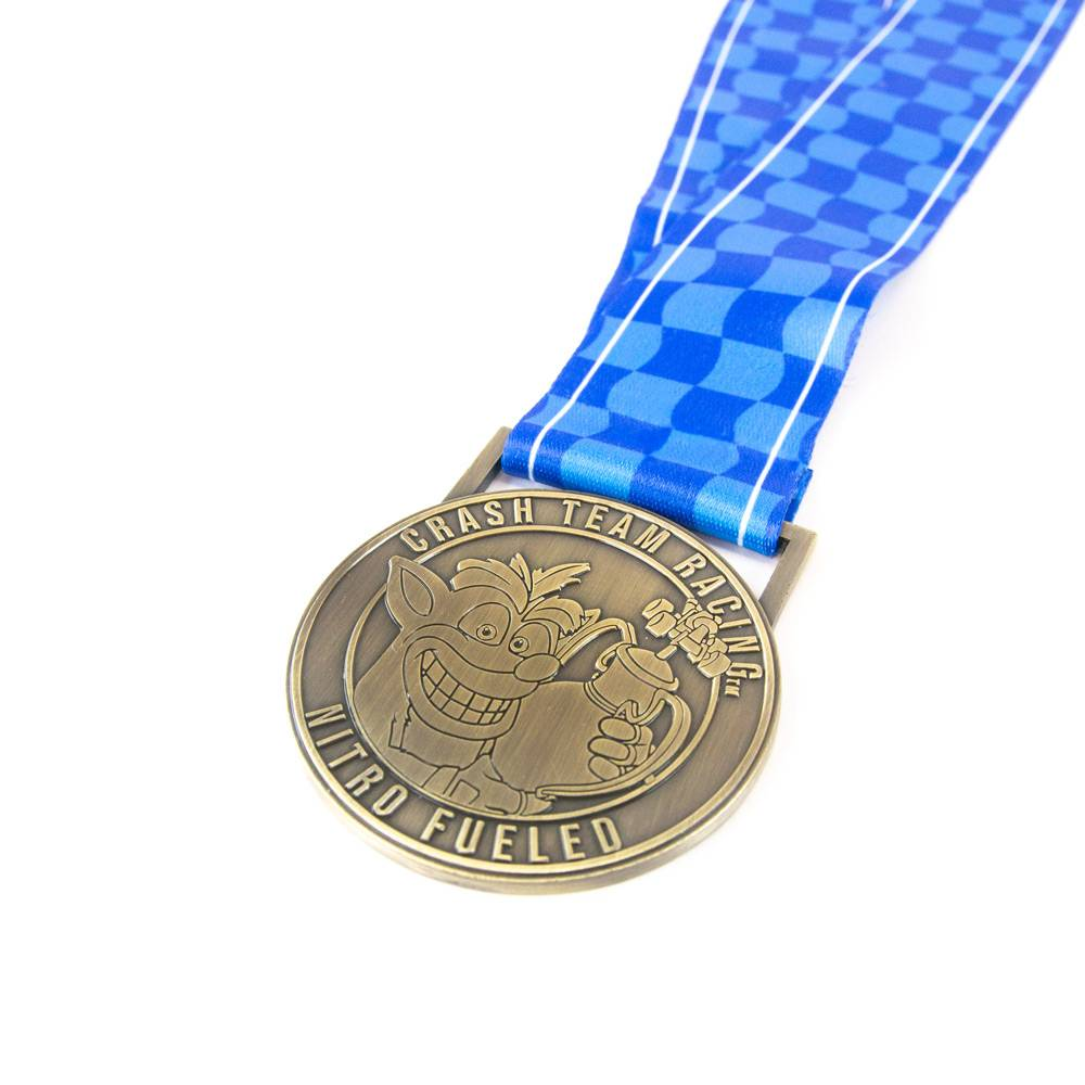 Crash Team Racing Nitro-Fueled Commemorative Winners Medal