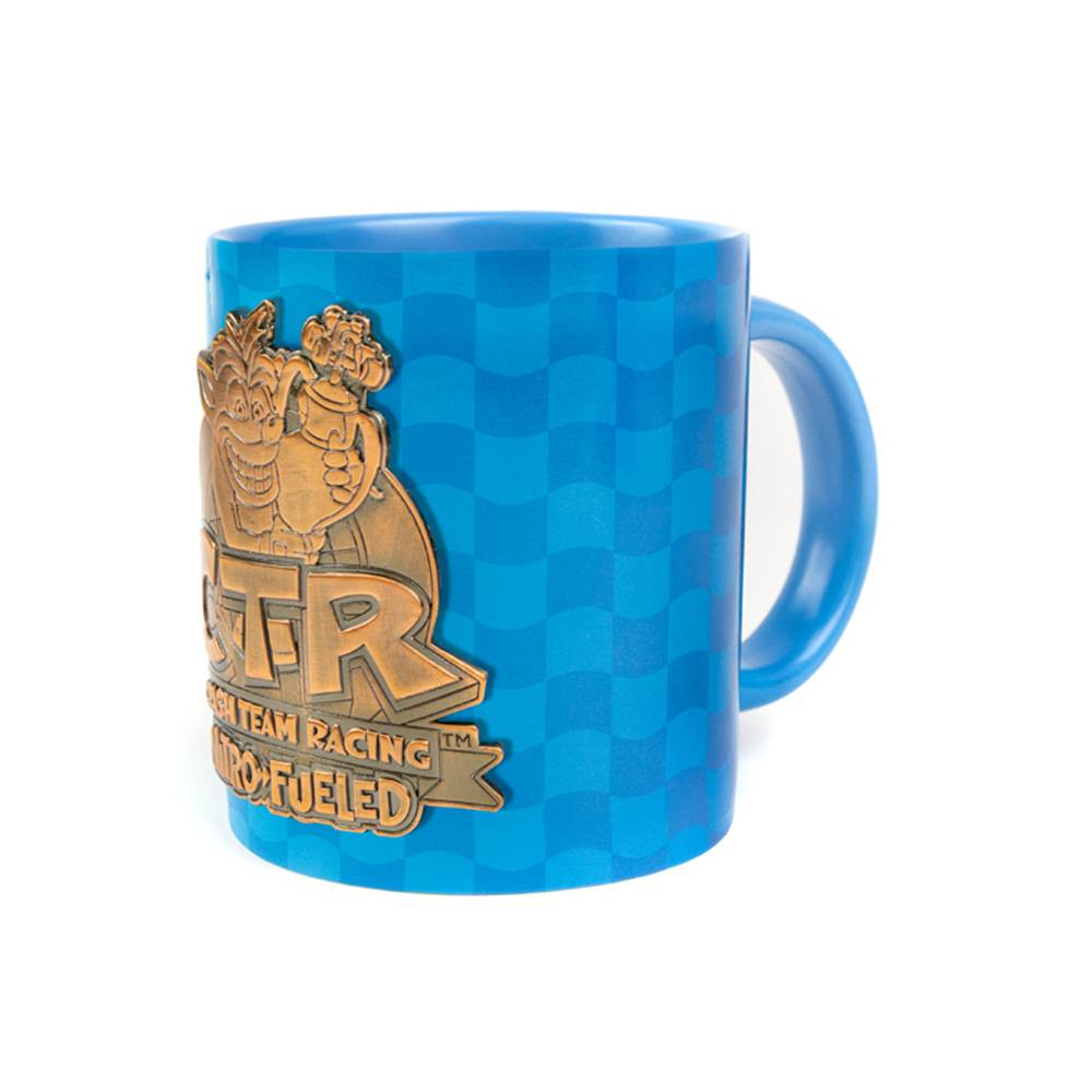 Crash Team Racing Nitro-Fueled Metal Badge Mug