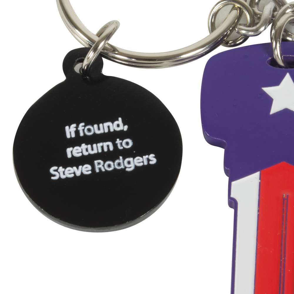 Captain America Key Bottle Opener Keyring / Keychain
