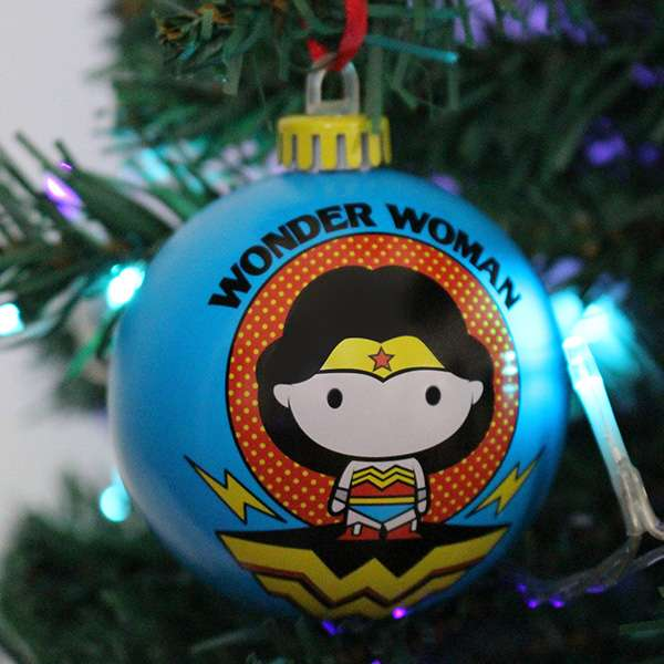 DC Comics 'Chibbi' Christmas Decorations / Ornaments