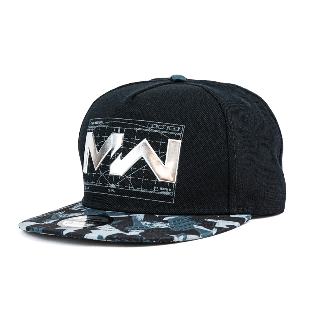Call of Duty Modern Warfare Liquid Chrome Snapback