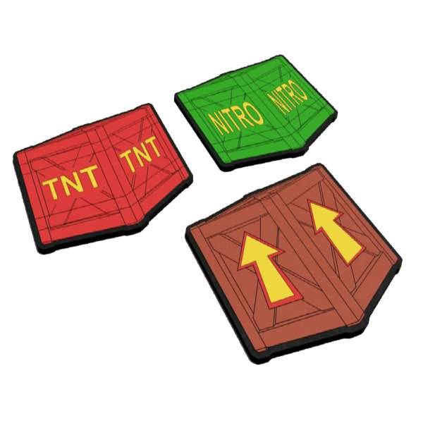 Crash Bandicoot Crate Coasters