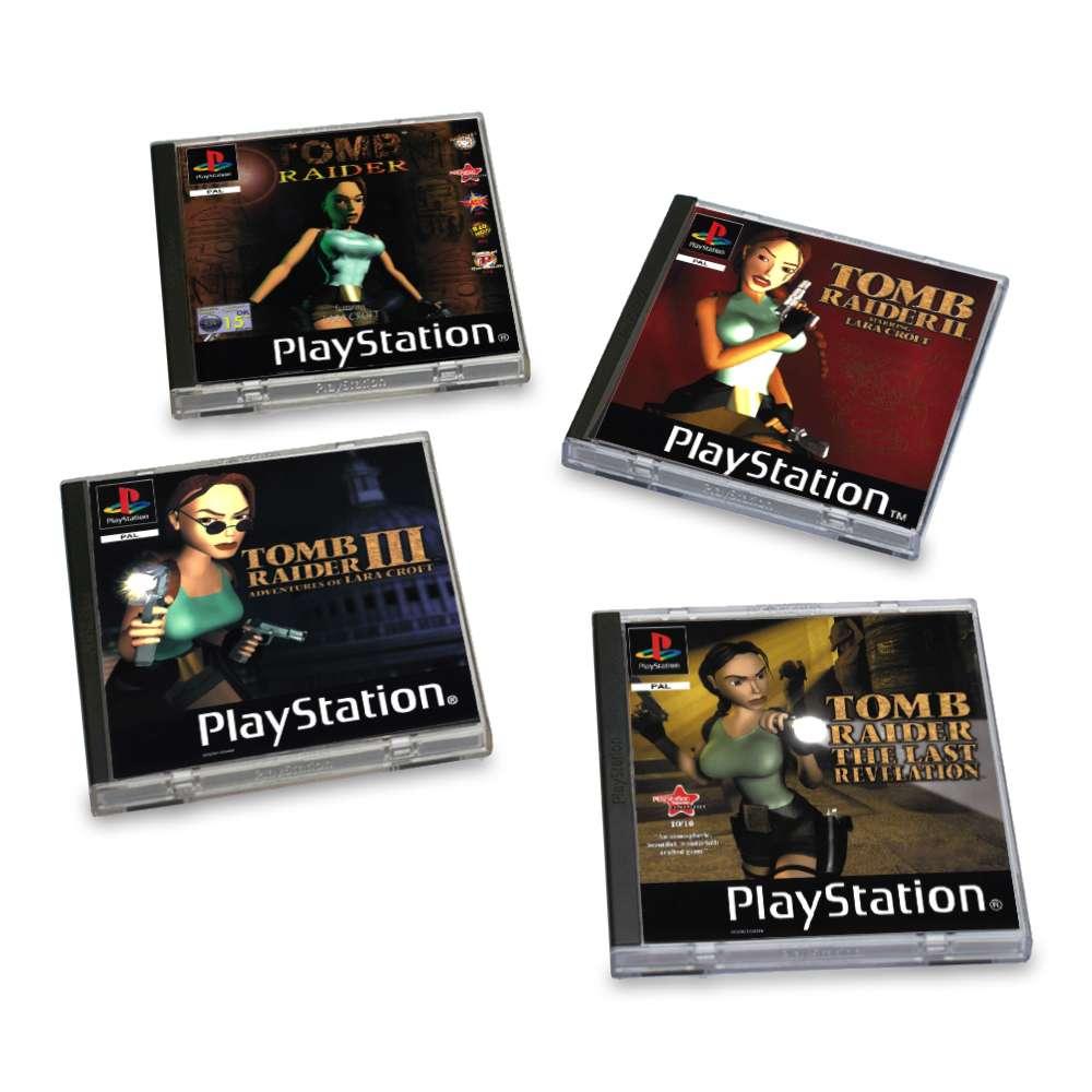 Tomb Raider PS1 Coasters