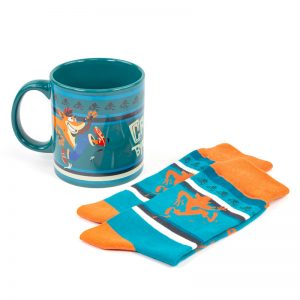Crash Bandicoot Gift Set – Mug/Socks