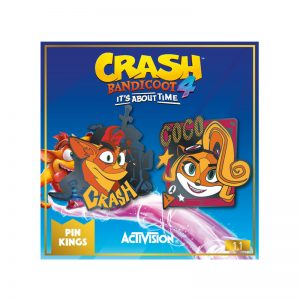 Crash Bandicoot 'Crash and Coco' Pin Badge Set 1.1