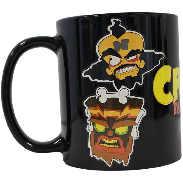 Crash Bandicoot Heat Changing Mug