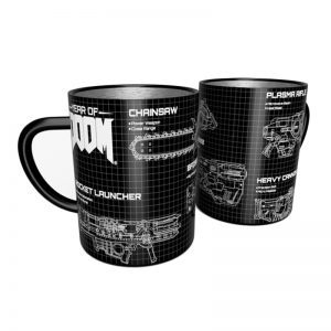 DOOM Weapons Steel Mug
