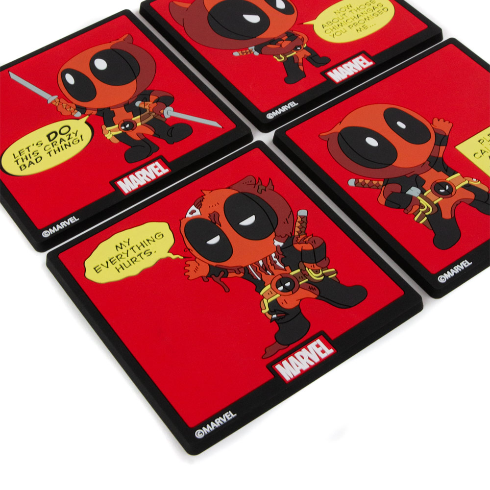 Deadpool Coast Pack (Set of 4)