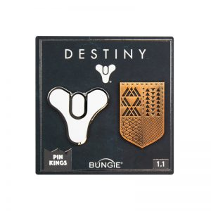 Pin Kings Destiny Enamel Pin Badge Set 1.1 – Guardian