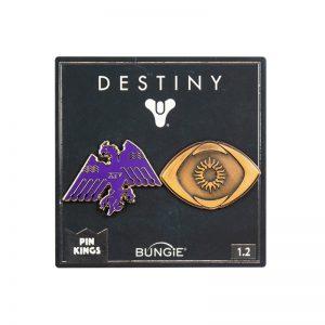 Pin Kings Destiny Enamel Pin Badge Set 1.2 – Saint-14