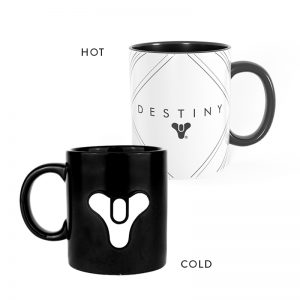 Destiny Tricorn Metal Badge Heat Changing Mug