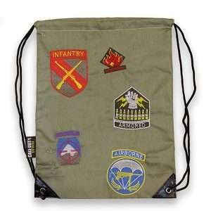 Call of Duty Division Patches Drawstring Bag