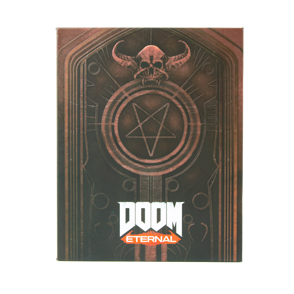 DOOM Premium Pin Badge Set