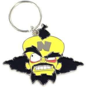 Crash Bandicoot Dr Neo Cortex Keyring / Keychain